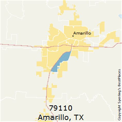 amarillo texas zip code map best places to live in amarillo zip 79110 texas