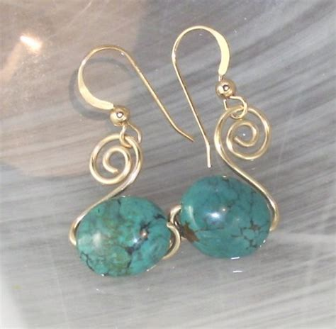 How To Make Handmade Earrings - 3 beginner wire wrapped earrings brandywinejewelrysupply