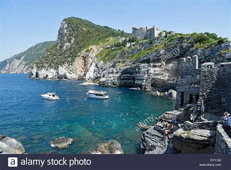porto venere la spezia grotto bay and castle swimming area porto venere porto