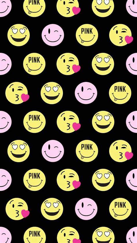 dark emoji wallpaper vs pink emoji wallpaper emojissss pinterest emoji