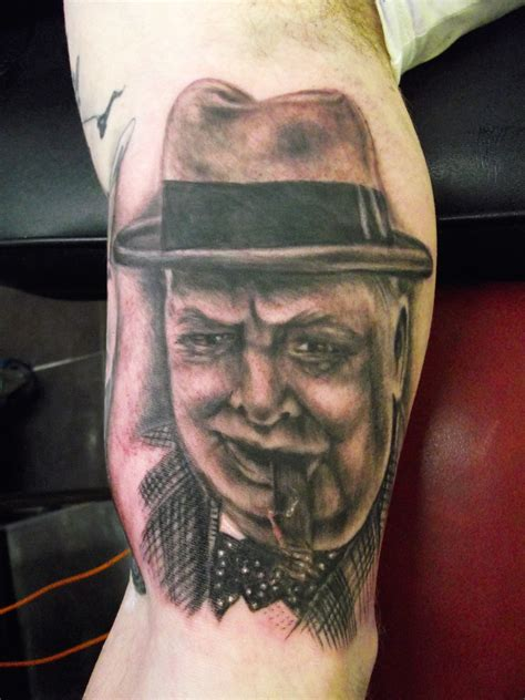 winston churchill tattoo winston churchill portrait by paul butler