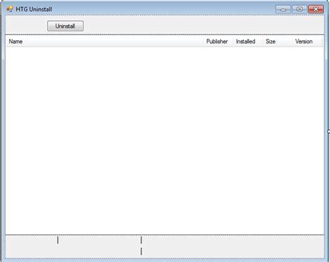 layout design in vb net making a program uninstaller with vb net