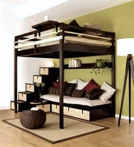 Loft Bed For Teenager Teen Room Bed On Stilts Kidspace Interiors