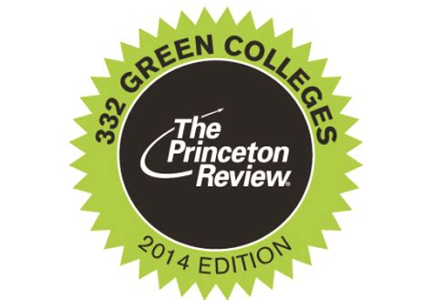 Princeton Review Mba Rankings 2014 by Allegheny College Featured In The Princeton Review S