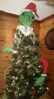 the grinch christmas tree toppers