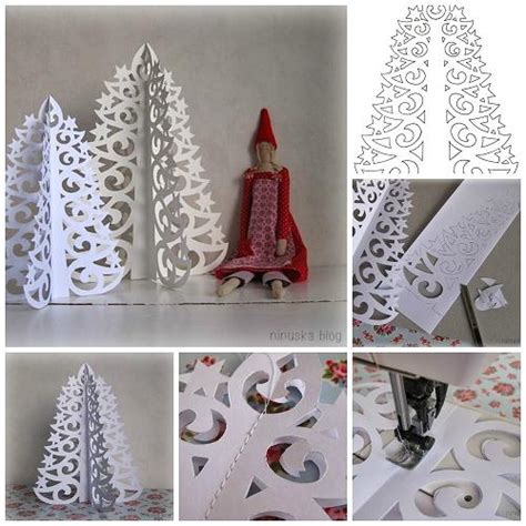 christmas tree paper pattern wonderful diy 3d paper christmas tree diy paper