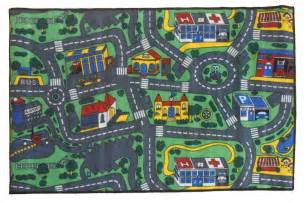 children s rug city roads 133cm x 200cm