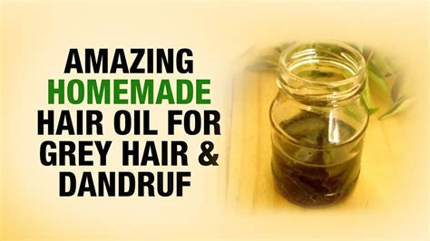9 homemade tips to cover up grey hair stylecraze amazing homemade hair oil for gray hair and dandruff dr