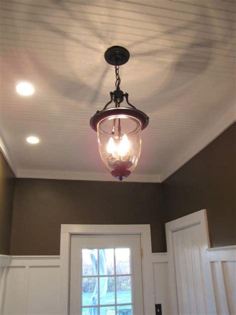 3 00 brass pendant light turned into pottery barn style