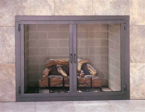 Design Specialties Glass Doors Chimney Doors Stoll Fireplace Inc Custom Glass Fireplace Doors Heating Solutions Screens And