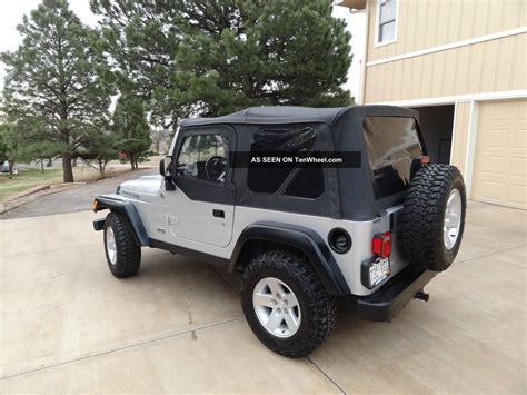 2005 Jeep Wrangler 4 Door 2005 Jeep Wrangler Rubicon Sport Utility 2 Door 4 0l