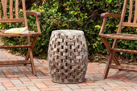 backyard chirper fire sense maya oval garden stool