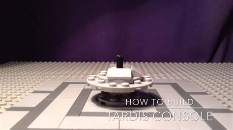 lego tardis console lego doctor who how to build 4 tardis console