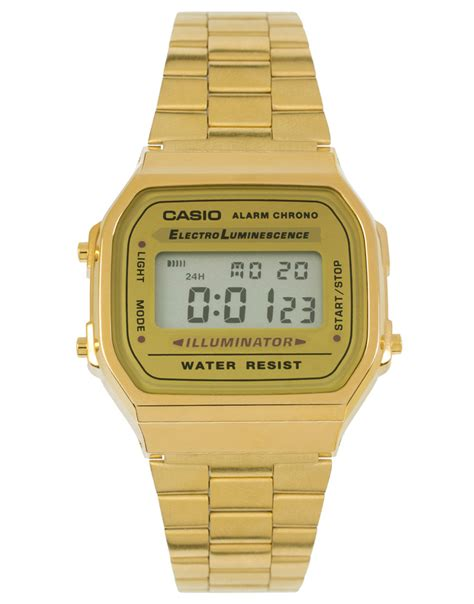 casio 9ef gold digital gadgeoo demo