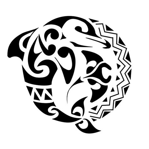 tribal dolphin tattoo meaning image result for different dolphin tribal