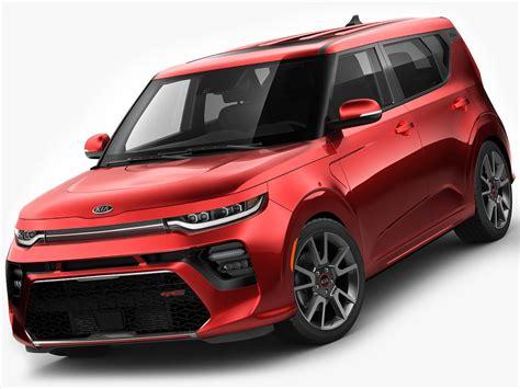 2020 Kia Soul Models by 3d Model Kia Soul 2020 Turbosquid 1392598