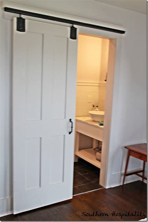 sliding bathroom barn door 25 best sliding bathroom doors ideas on pinterest