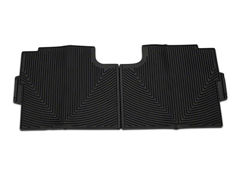 F 150 All Weather Floor Mats by Weathertech F 150 All Weather Rear Rubber Floor Mats