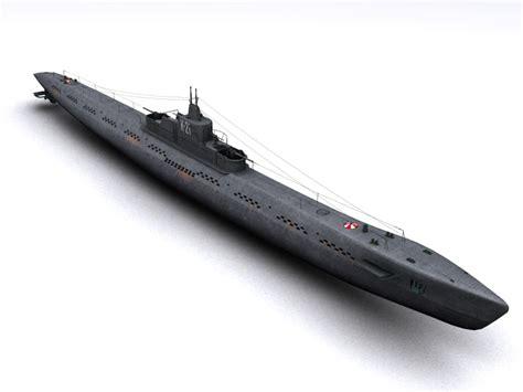 Low Max Gardis Original Japan k 21 wwii soviet submarine 3d 3ds