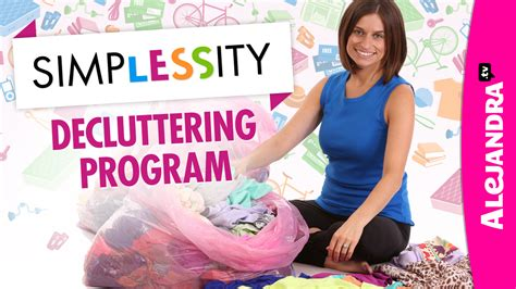 alejandra tv video simplessity declutter your home program by