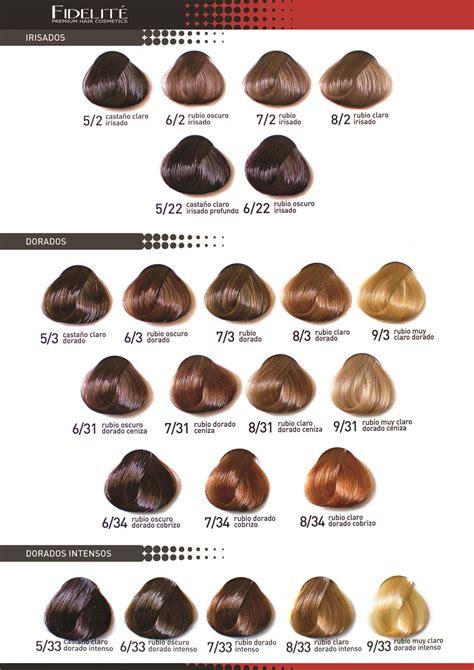 tintura new color carta de colores color master 02 tinturas de pelo