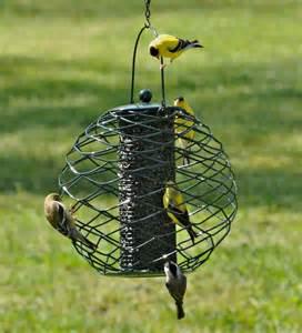 Bird Feeder Globe Thistle Seed Bird Feeder Bird Squirrel Feeders