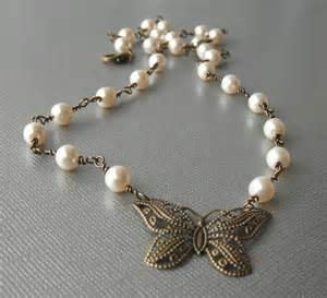 Handcrafted Necklaces - bridal handcrafted jewelry swarovski necklace