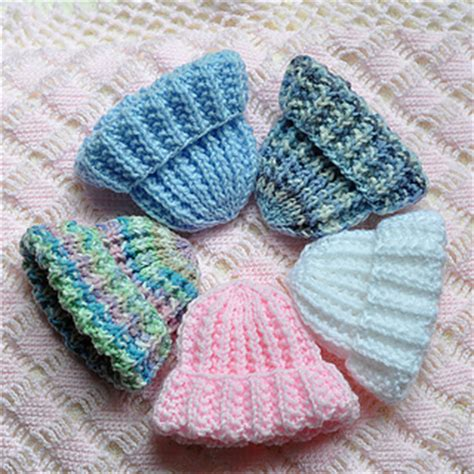 knitting pattern premature baby hat ravelry perfect knit preemie cap pattern by jane bonning