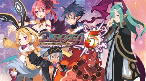 Kaset Switch Disgaea 5 Complete disgaea 5 complete for nintendo switch gets release date and comes with all ps4 dlc