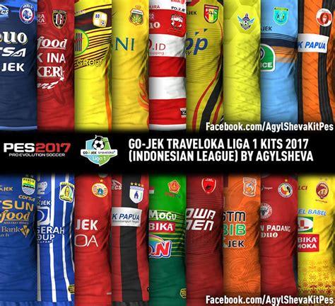 Patch Gojek Traveloka Liga 1 2017 2018 Polyflex Print N Cut Baru pes 2017 gojek traveloka liga 1 kitpack v3 aio by