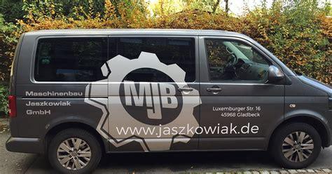 Folienbeschriftung Gladbeck by Maschinenbau Jaszkowiak Multivan Di Signs Mediendesign