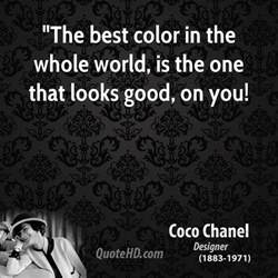 best color in the world coco chanel quotes quotehd