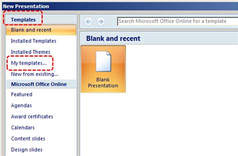 templates of powerpoint 2007 authoring techniques for accessible office documents