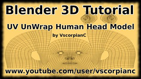 blender 3d unwrap tutorial blender 3d tutorial uv mapping how to unwrap character