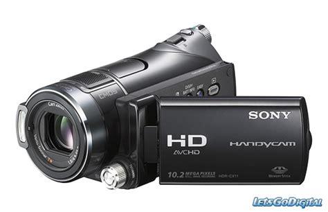 Kamera Sony Hd sony hdr cx11e hd kamera letsgodigital