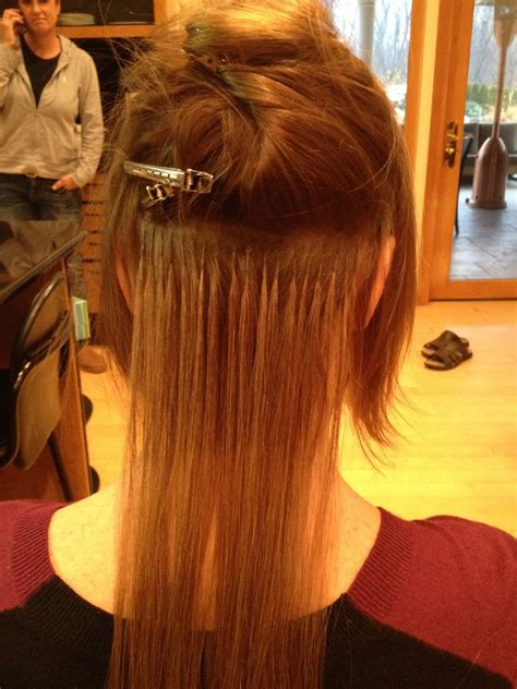 great lengths hair extensions before during after cold great lengths specialist tiffany louise collura before