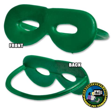 Rubber Green green rubber mask for figures