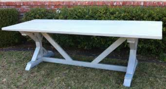 Long Outdoor Table Simple Diy Dining Table With Colorful Legs Home Interior