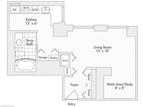 chicago apartment floor plans randolph tower city apartments rentals chicago il