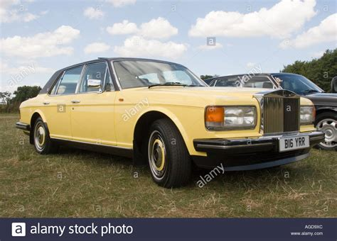 yellow rolls royce yellow rolls royce car stock photo royalty free image