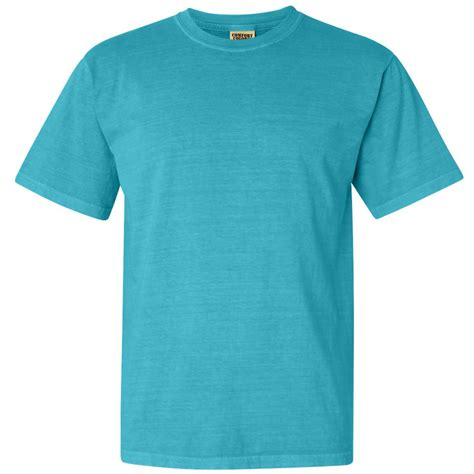 comfort color lagoon blue comfort colors 1717 garment dyed heavyweight ringspun