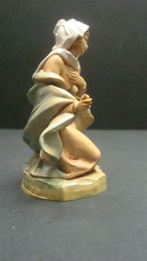 fontanini nativity mary 2 simonetti depose italy figurine