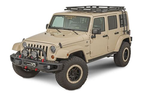 Rubicon Roof Rack by Maximus 3 Rhino Rack Pioneer Roof Rack For 07 18 Jeep
