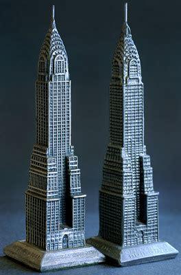 Mini Arsitektur Chrysler Building building collector chrysler building souvenir miniature replica