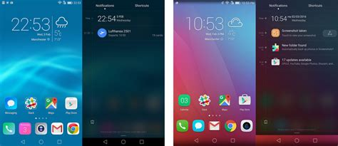 emui theme honor huawei p8 farbige icons in statusleiste huawei p8 forum