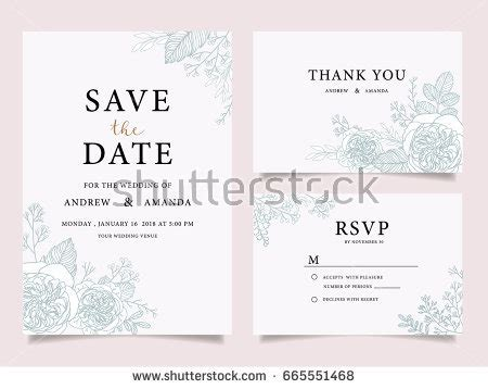 wedding card text template watercolor wedding invitation stock images royalty free