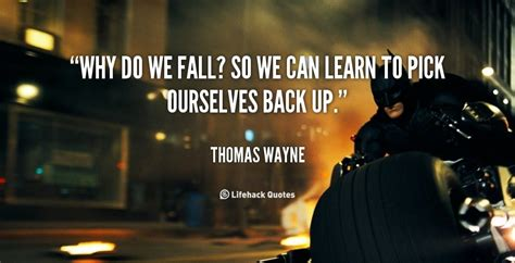 batman wallpaper why do we fall daily quote why do we fall