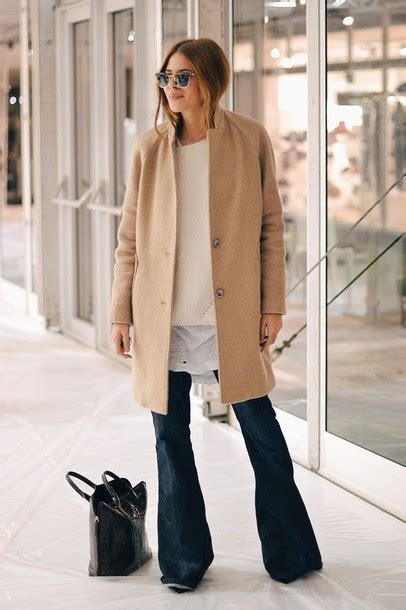 leg l sweater jacket maja wyh camel coat oversized sweater