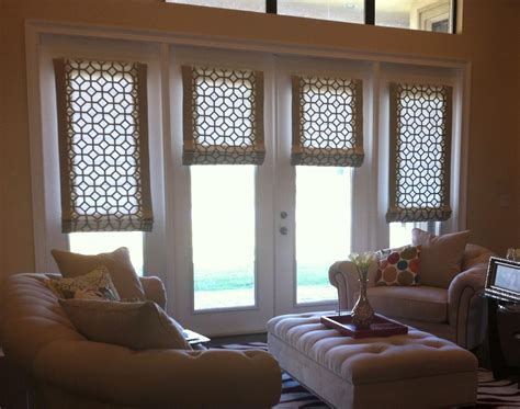 Door Shades For Doors With Windows by Shades For Doors Window Treatments Design Ideas