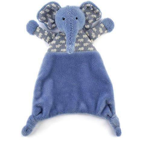 Jellycat Bashful Elly Soother Blue jellycat indigo elly soother jellyexpress co uk
